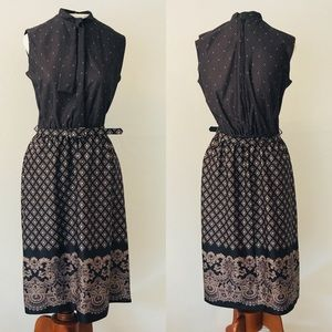 Hal Ferman Dresses - Hal Ferman Vintage 70's or 80's  2 piece dress